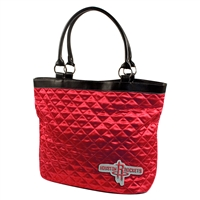 Houston Rockets NBA Quilted Tote (Light Red)