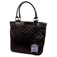 Sacramento Kings NBA Quilted Tote (Black)