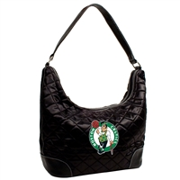 Boston Celtics NBA Quilted Hobo (Black)