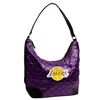 Los Angeles Lakers NBA Quilted Hobo (Purple)