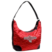 Houston Rockets NBA Quilted Hobo (Light Red)