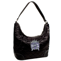 Sacramento Kings NBA Quilted Hobo (Black)