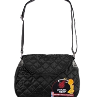 Miami Heat NBA Quilted Saddlebag (CHAMP13)