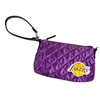 Los Angeles Lakers NBA Quilted Wristlet (Purple)