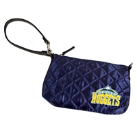 Denver Nuggets NBA Quilted Wristlet (Navy)
