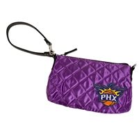 Phoenix Suns NBA Quilted Wristlet (Purple)
