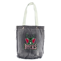 Milwaukee Bucks NBA Vintage Denim Shopper