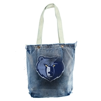 Memphis Grizzlies NBA Vintage Denim Shopper