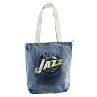 Utah Jazz NBA Vintage Denim Shopper