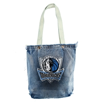 Dallas Mavericks NBA Vintage Denim Shopper