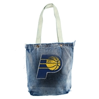 Indiana Pacers NBA Vintage Denim Shopper