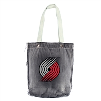 Portland Trail Blazers NBA Vintage Denim Shopper