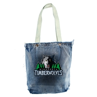 Minnesota Timberwolves NBA Vintage Denim Shopper