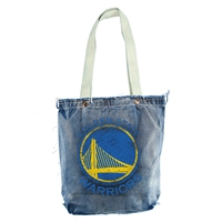 Golden State Warriors NBA Vintage Denim Shopper