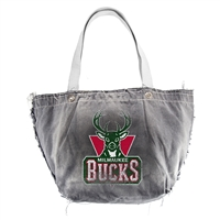 Milwaukee Bucks NBA Vintage Denim Tote
