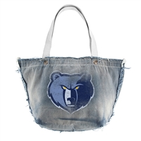Memphis Grizzlies NBA Vintage Denim Tote