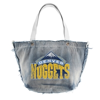 Denver Nuggets NBA Vintage Denim Tote