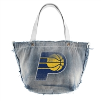 Indiana Pacers NBA Vintage Denim Tote