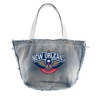 New Orleans Pelicans NBA Vintage Denim Tote