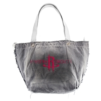 Houston Rockets NBA Vintage Denim Tote