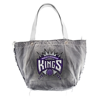 Sacramento Kings NBA Vintage Denim Tote