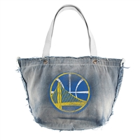 Golden State Warriors NBA Vintage Denim Tote