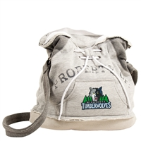 Minnesota Timberwolves NBA Property Of Hoodie Duffel