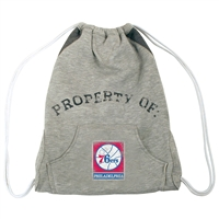 Philadelphia 76ers NBA Hoodie Clinch Bag