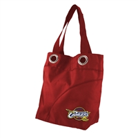 Cleveland Cavaliers NBA Color Sheen Tote (Dark Red)