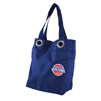 Detroit Pistons NBA Color Sheen Tote (Navy)