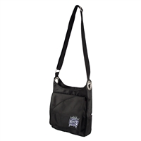 Sacramento Kings NBA Color Sheen Cross-body Bag (Black)