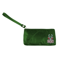 Milwaukee Bucks NBA Color Sheen Wristlet (Green)