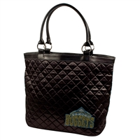 Denver Nuggets NBA Sport Noir Quilted Tote