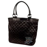 Oklahoma City Thunder NBA Sport Noir Quilted Tote