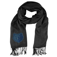 Memphis Grizzlies NBA Black Pashi Fan Scarf