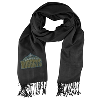 Denver Nuggets NBA Black Pashi Fan Scarf