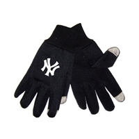 New York Yankees MLB Technology Gloves (Pair)