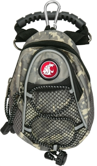 Washington State Cougars Mini Day Pack - Camo