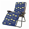 Michigan Wolverines 3pc Chaise Lounge Cushion