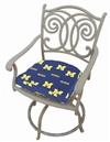 Michigan Wolverines D Cushion
