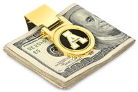 Appalachian State Mountaineers Money Clip - Gold
