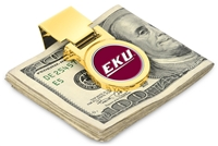 Eastern Kentucky Colonels Money Clip - Gold