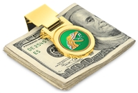 Florida A&M Rattlers Money Clip - Gold