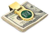 Hawaii Warriors Money Clip - Gold