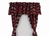 "Mississippi State Bulldogs Printed Curtain Panels 42"" X 63"""
