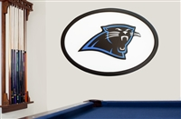 Carolina Panthers 46 inch Logo Wall Art 17