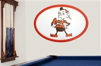 Cleveland Browns 46 inch Logo Wall Art 17