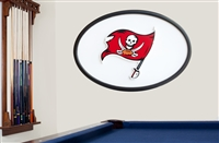 Tampa Bay Buccaneers 46 inch Logo Wall Art 18