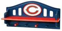 Chicago Bears Chicago Bears Shelf with Pegs