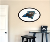 Carolina Panthers 31 inch Logo Wall Art